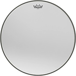 Remo Ambassador Starfire Chrome Bass Drumhead 20 In.