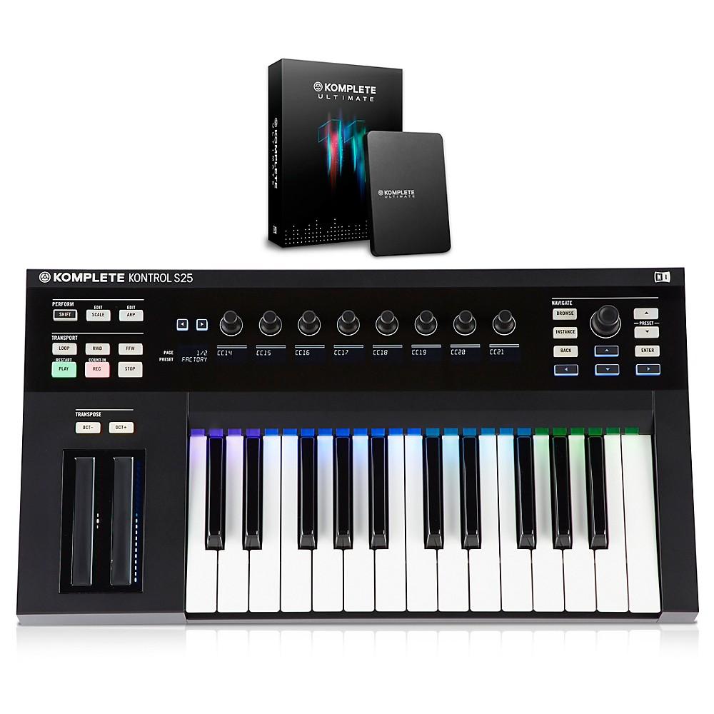 Native Instruments KOMPLETE KONTROL S25 Keyboard Controller with KOMPLETE 11 ULTIMATE 1500000033951