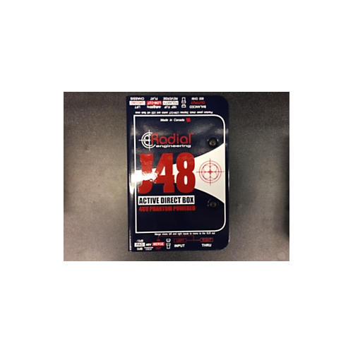 Radial Engineering J48 ACTIVE DI Direct Box