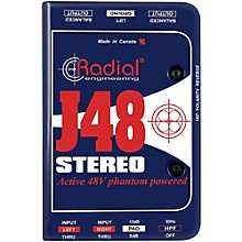 Radial Engineering J48 Stereo Active Direct Box Level 1
