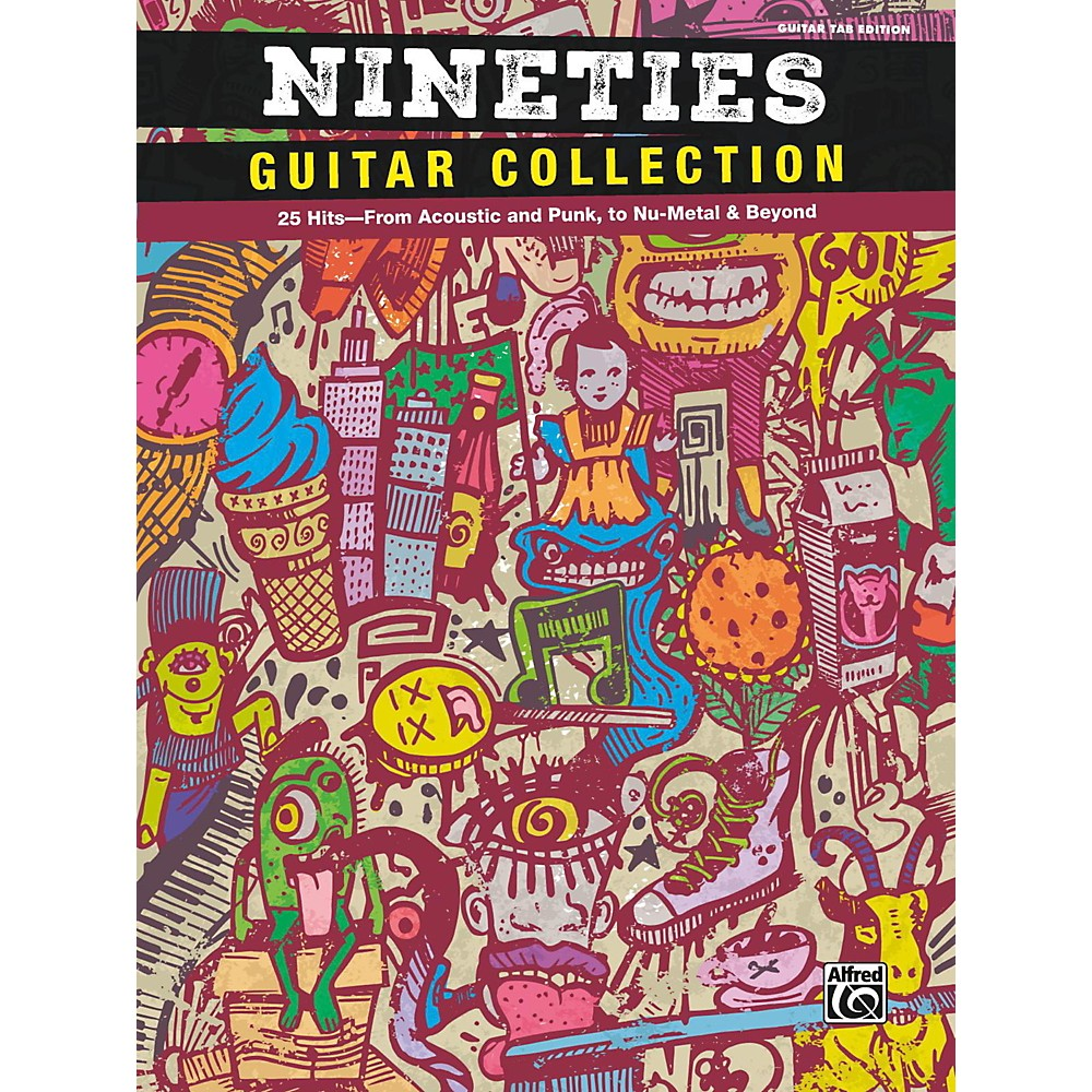 Alfred Nineties Guitar Collection Guitar Tab Edition Songbook 1500000033300