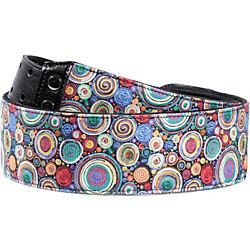 Right On Funky Bubbles Special Guitar Strap Bubbles Special 4 In.