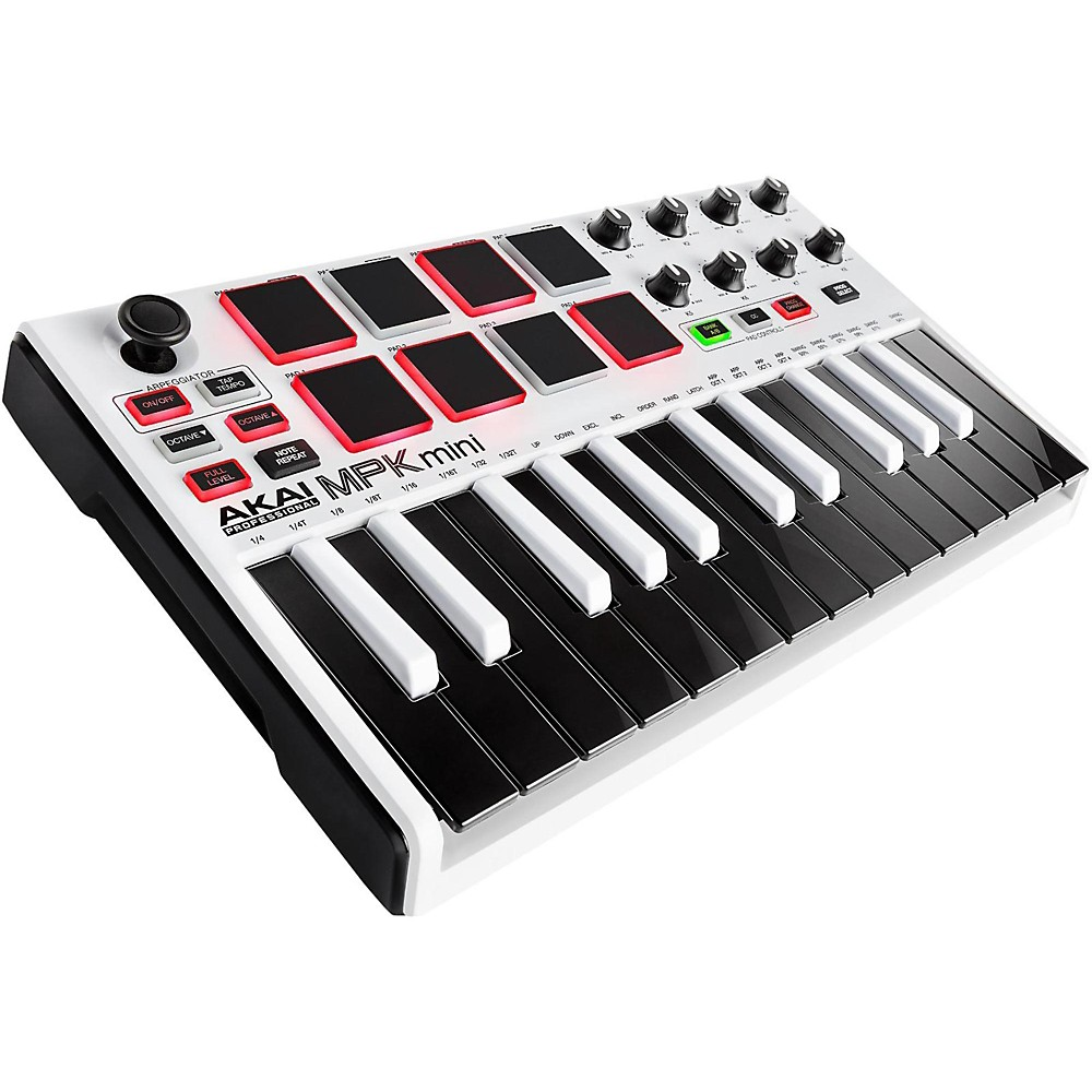Akai Professional White Mpk Mini Mkii Limited Edition -  MPKMINI2WHITE