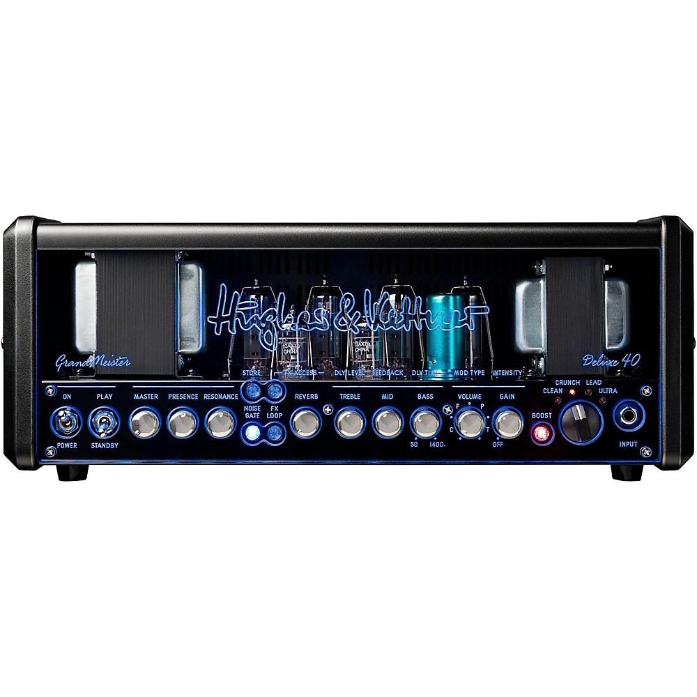 Hughes & Kettner Gm40dh Grandmeister Deluxe 40 40W Guitar Amplifier Head (1500000031982) photo