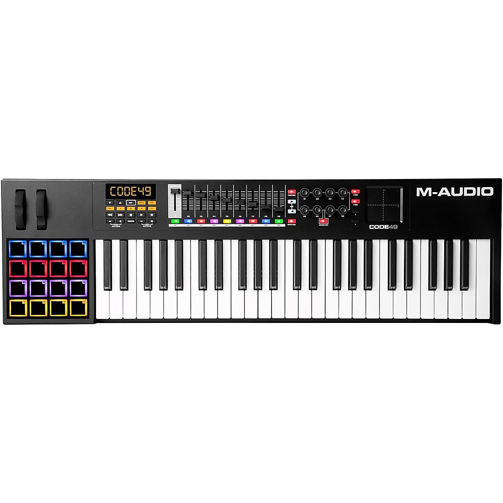 M-Audio Code Series Usb Midi Keyboard Controller Black 49 Key