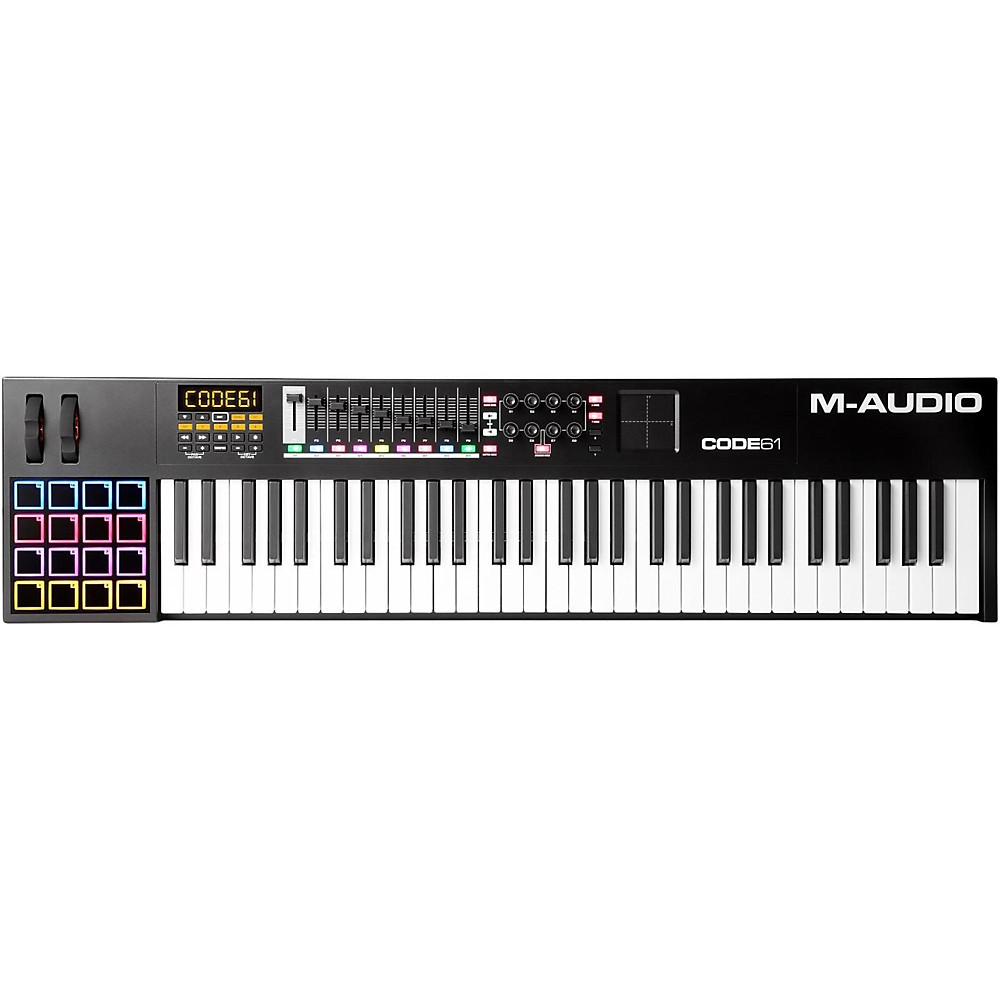 M-Audio Code Series Usb Midi Keyboard Controller Black 61 Key