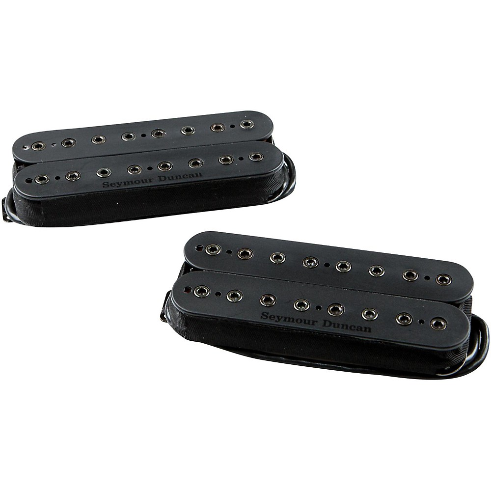 Seymour Duncan M Holcomb Alpha Omega 8-String Pickup Set Black Bridge or Neck 1500000042098
