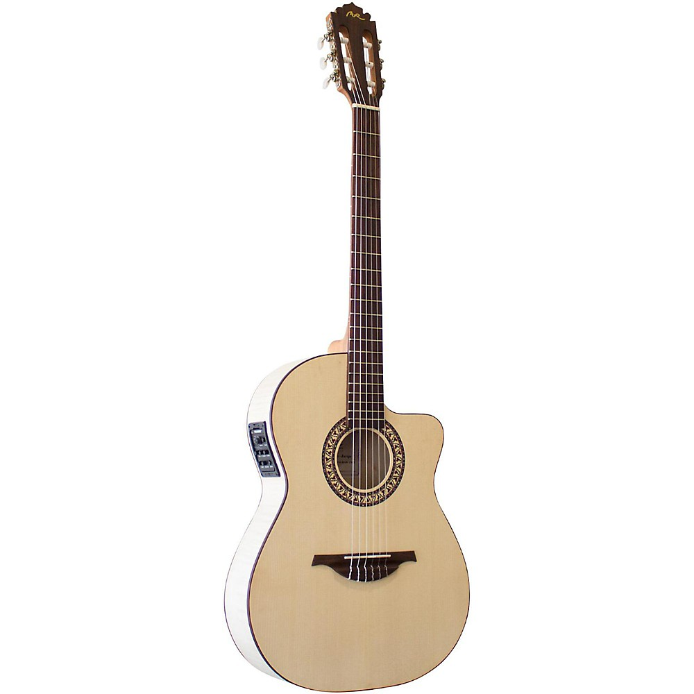 Manuel Rodriguez Guitarra Mod C11 Classical Acoustic-Electric Guitar Natural 1500000045875