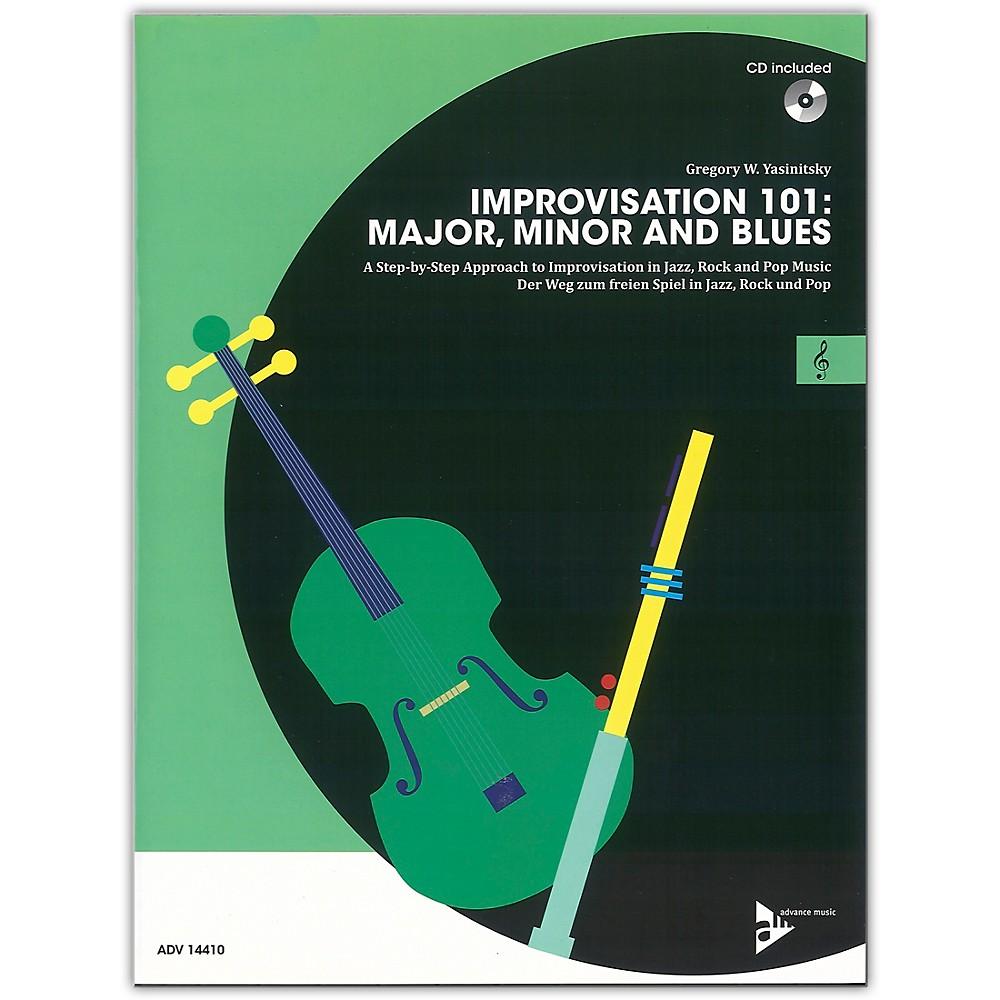 Advance Music Improvisation 101: Major, Minor, And Blues C Instruments Book & Cd 1500000054775