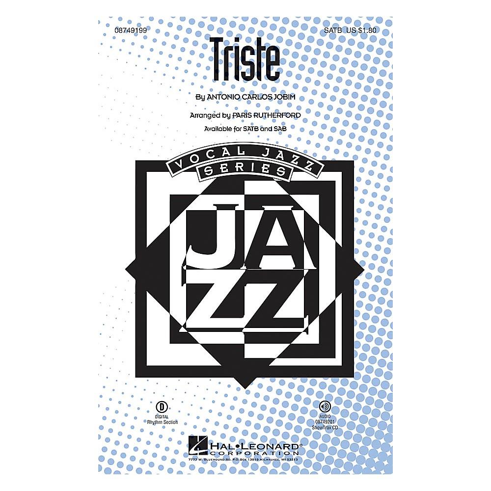 Hal Leonard Triste SATB arranged by Paris Rutherford 1500000058336