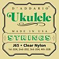 D'Addario J65 Nylon Ukulele Strings thumbnail