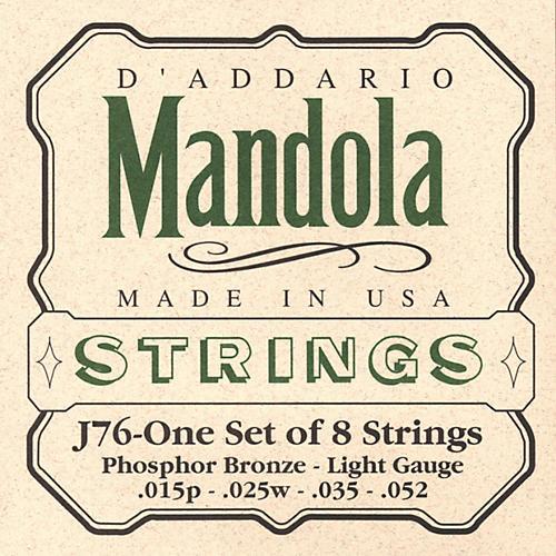 D'Addario J76 Mandola PB Light Mandolin Strings