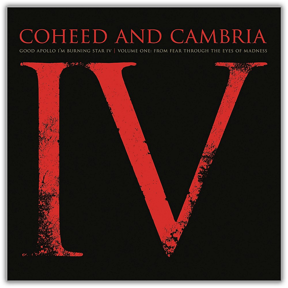 Sony Coheed and Cambria/Good Apollo I'm Burning Star IV Volume One:  From Fear Through The Eyes Of Madness (2 LP) 1500000100324