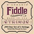 D'Addario J90 Fiddle 4/4 Size Chrome/Steel String Set thumbnail