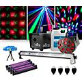 CHAUVET DJ JAM Pack Diamond with Four Party Bulbs, Four Blacklights and a VEI Mini Laser Lighting Package thumbnail