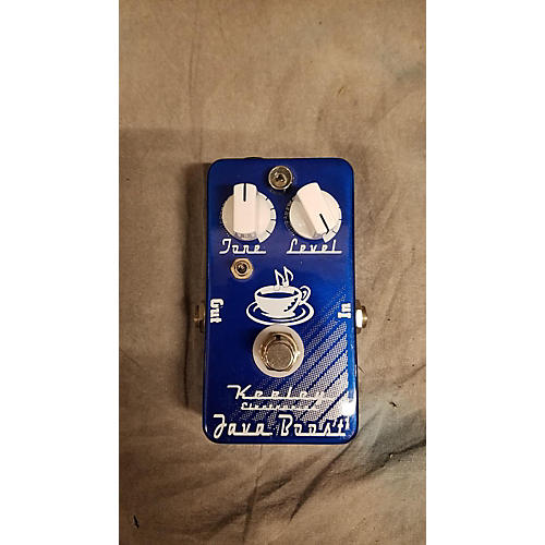Keeley JAVA BOOST Effect Pedal