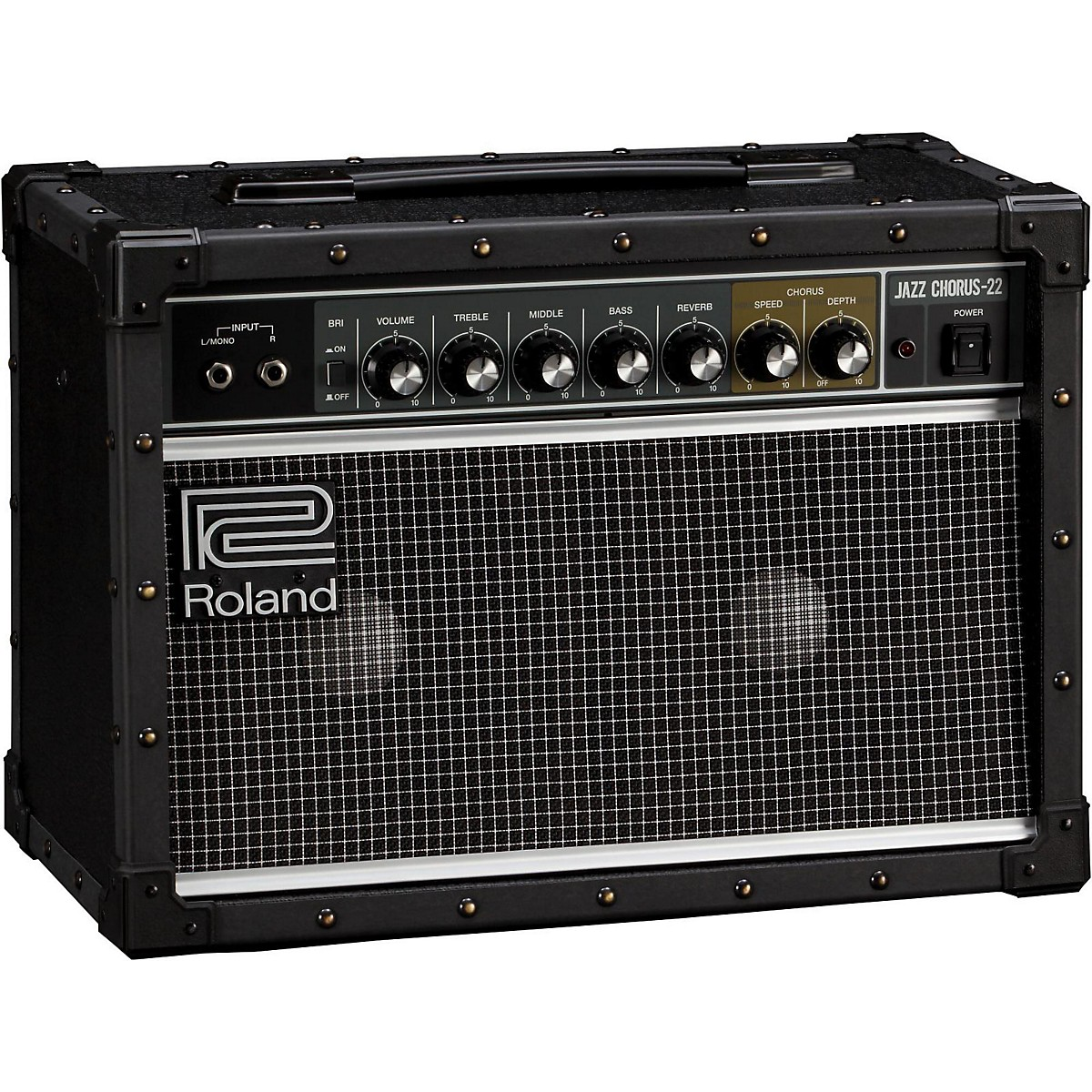 Roland JC-22 Jazz Chorus 30W 2x6.5 Guitar Combo Amplifier