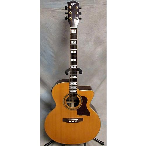 Vineyard JC-501CEQT Acoustic Electric Guitar