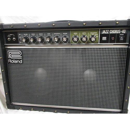 used roland jc40 jazz chorus guitar combo amp guitar center. Black Bedroom Furniture Sets. Home Design Ideas