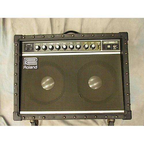 Roland JC77 Jazz Chorus 2x12 Guitar Combo Amp
