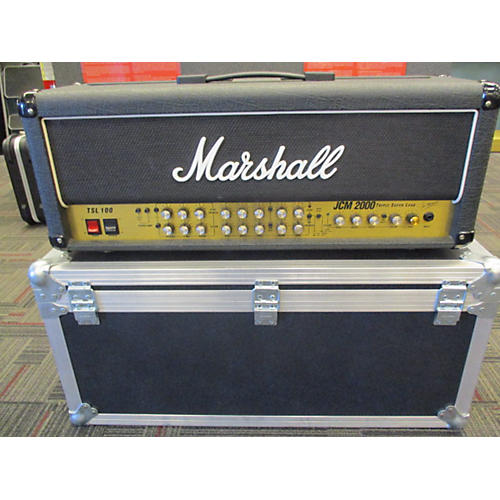 Marshall JCM 2000 TSL100 W/ ROAD CASE Tube Guitar Amp Head