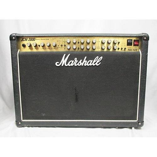 used marshall jcm2000 tsl122 60w 2x12 tube guitar combo amp guitar center. Black Bedroom Furniture Sets. Home Design Ideas