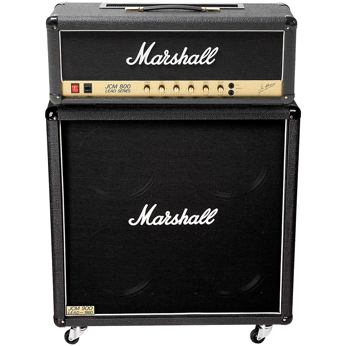 Marshall JCM800 2203X Vintage and 1960A Half Stack