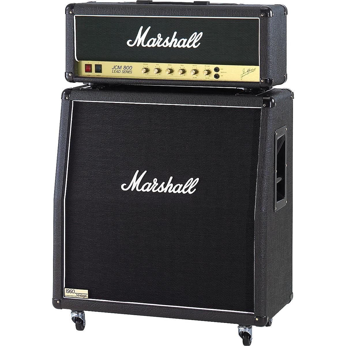 Marshall JCM800 2203X Vintage and 1960AV Half Stack