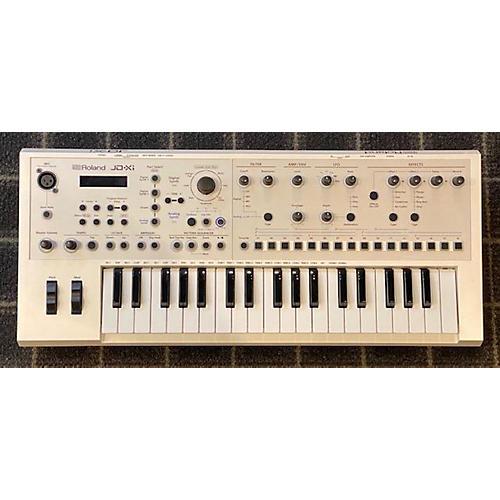 Roland JD-XI White Synthesizer