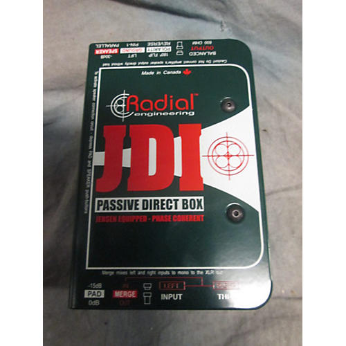 Radial Engineering JDI PASSIVE DI BOX Direct Box