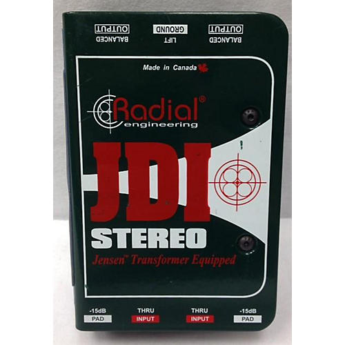 Radial Engineering JDI Stereo Direct Box