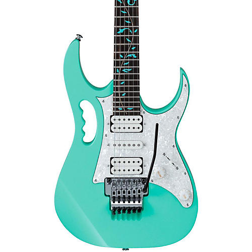 Ibanez Jem Uv Steve Vai Signature Electric Guitar Sea Foam Green