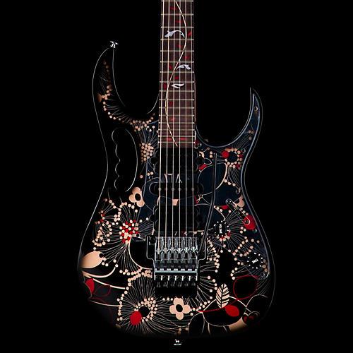 ibanez jem77fp2 steve vai signature electric guitar guitar center. Black Bedroom Furniture Sets. Home Design Ideas