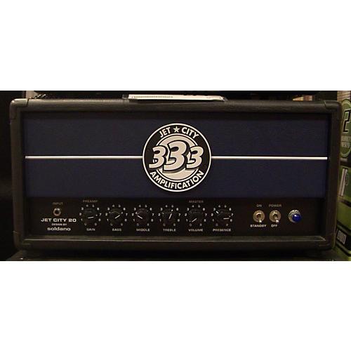 used jet city amplification jet city soldano 20 watt head tube guitar amp head guitar center. Black Bedroom Furniture Sets. Home Design Ideas