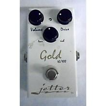 Jetter Gear JG010GS Gold Standard Overdrive Effect Pedal