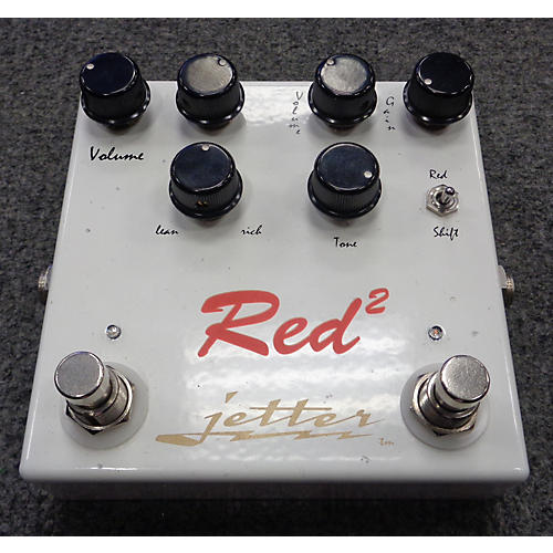 Jetter Gear JG011R2 Red Square Overdrive Effect Pedal