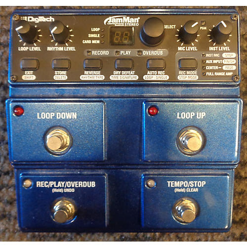 Digitech JML2 JamMan Stereo Looper And Phrase Sampler Pedal