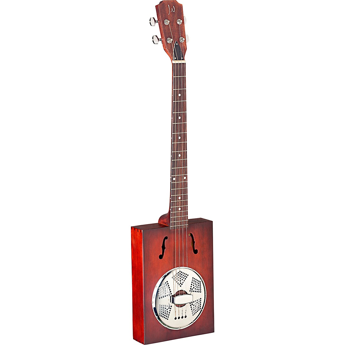 JN Guitars JN Guitars Cask Series Puncheon Cigar Box Resonator Guitar