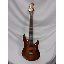 Sterling by Music Man JP100D Koa Solid Body Electric Guitar