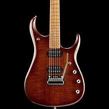 Ernie Ball Music Man JP15 Roasted Flame Maple Top Six-String Electric Guitar Sahara Burst