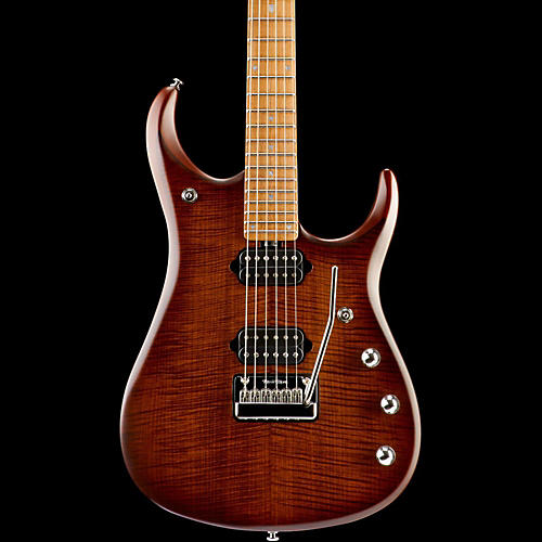 Ernie Ball Music Man JP15 Roasted Flame Maple Top Six-String Electric Guitar