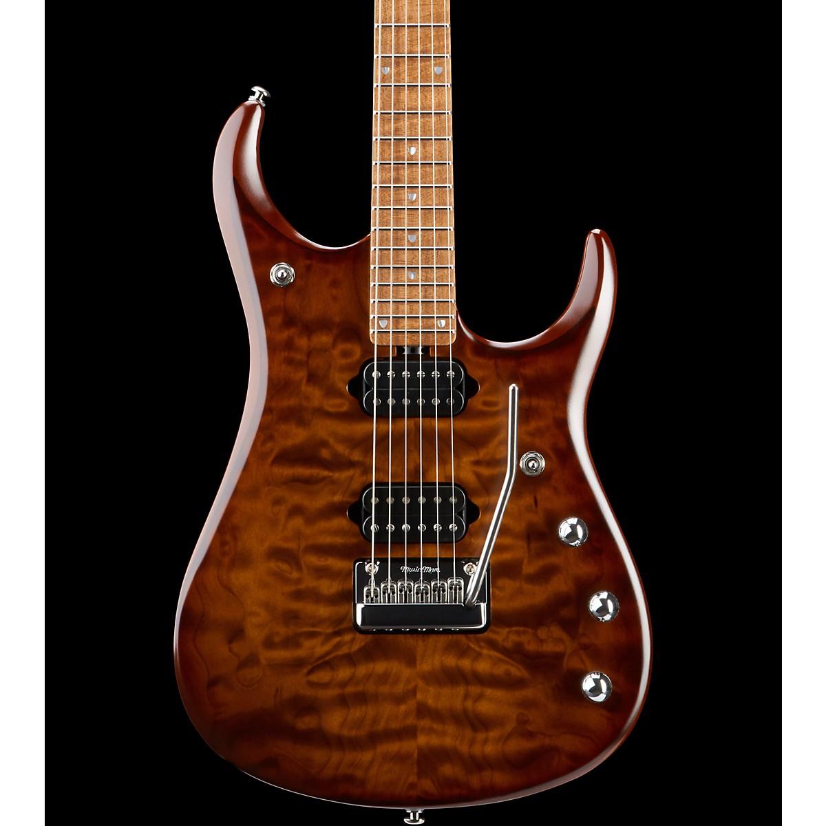 Ernie Ball Music Man JP15 Roasted Quilt Maple Top Electric Guitar