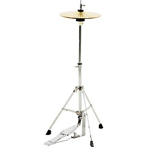 cb percussion jrx07c mini hi hat stand with cymbals guitar center. Black Bedroom Furniture Sets. Home Design Ideas