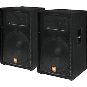 jbl jrx115 15 2 way speaker cabinet pair guitar center. Black Bedroom Furniture Sets. Home Design Ideas