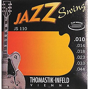 thomastik js110 flatwound extra light jazz swing guitar strings guitar center. Black Bedroom Furniture Sets. Home Design Ideas