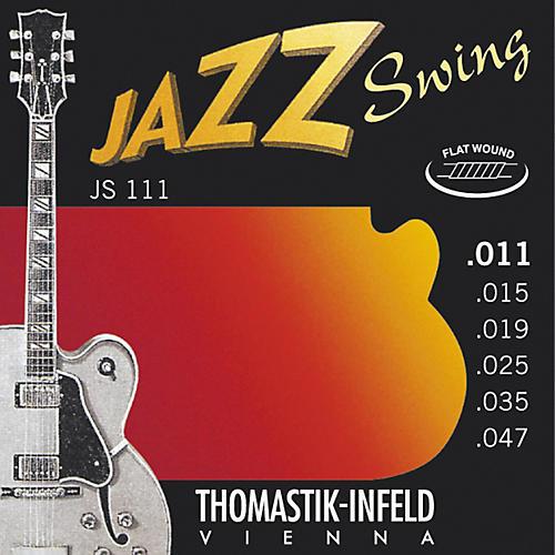 Thomastik JS111 Light Flatwound Jazz Swing Electric Guitar Strings