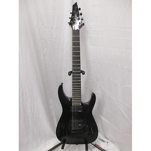 used jackson js22 7 dinky 7 string solid body electric guitar black guitar center. Black Bedroom Furniture Sets. Home Design Ideas