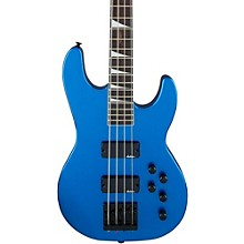 JS3 JS Series Concert Electric Bass Guitar Metallic Blue