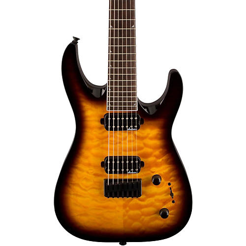 Jackson JS32-7 Dinky DKA QM 7-String Electric Guitar