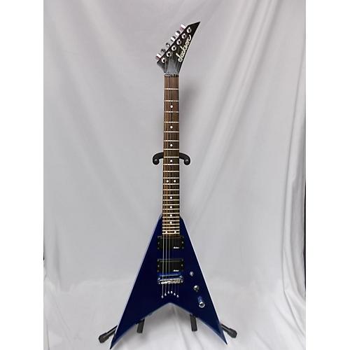 used jackson js32 king v solid body electric guitar blue guitar center. Black Bedroom Furniture Sets. Home Design Ideas
